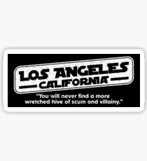 Star Wars Los Angeles Wretched Hive Parody Sticker