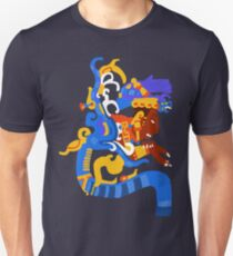 Human head emerging from a snake mouth  T-Shirt