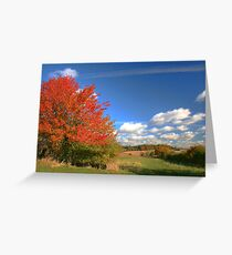 Positively Autumn Greeting Card