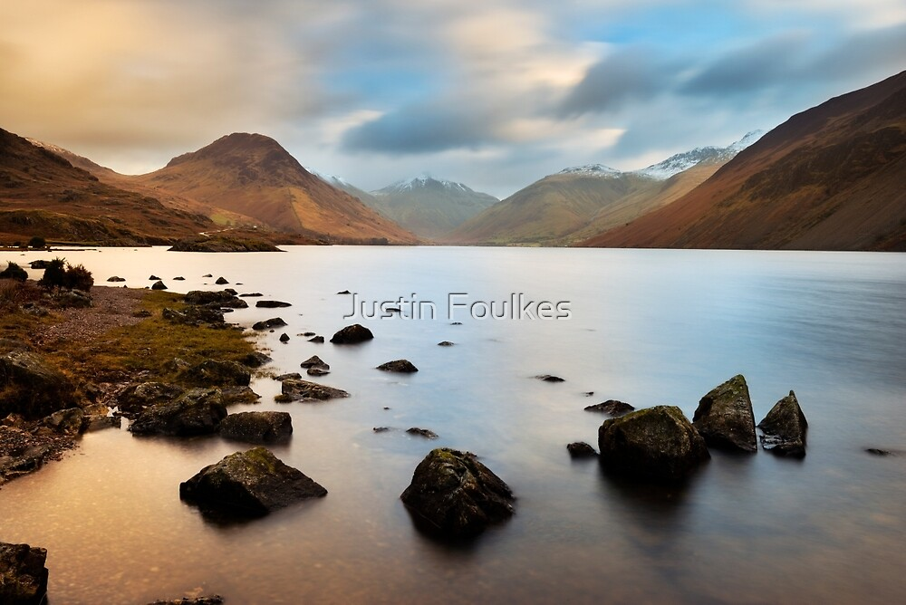 Early morning at Wastwater by Justin Foulkes
