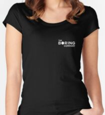 Boring tee Women's Fitted Scoop T-Shirt