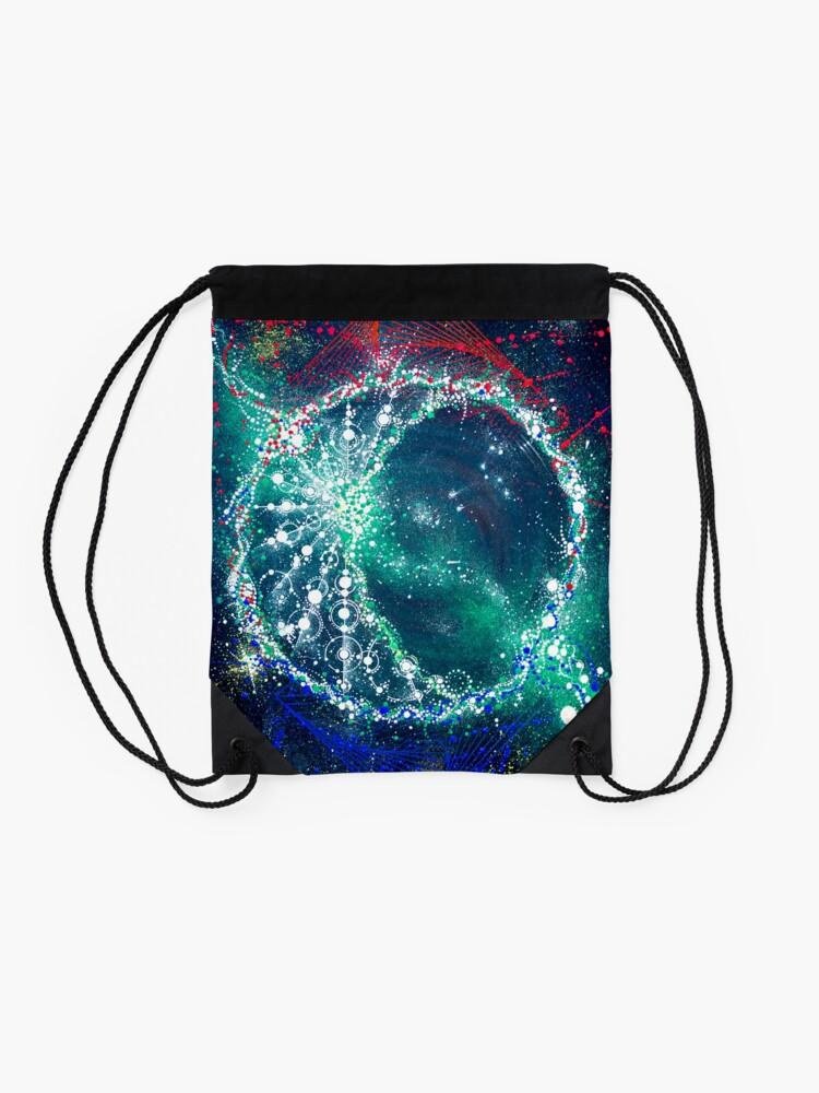 Alternate view of Luna #01 Drawstring Bag