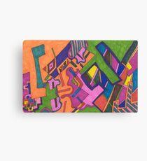 """Geometric"" Canvas Print"