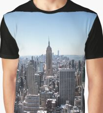 A view from the Rock, NYC Graphic T-Shirt