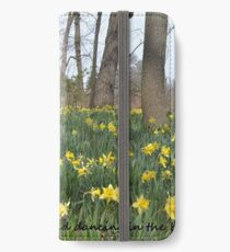 Daffodils Greeting Card iPhone Wallet/Case/Skin