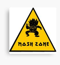 Metal Mosh Zone Canvas Print