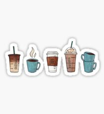Coffee Pack Sticker