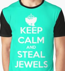 Keep Calm and Steal Jewels Graphic T-Shirt
