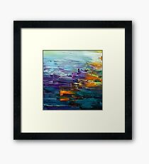 colorful Contemporary by rafi talby Framed Print