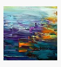 colorful Contemporary by rafi talby Photographic Print