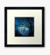 ~ The Cheshire Cat ~ Framed Print