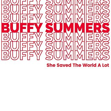 Buffy Summers by celerywoulise