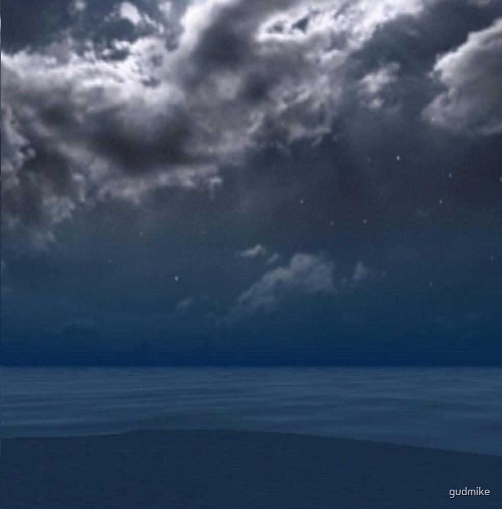 The Ocean Sleeps under God's watchful eye by gudmike