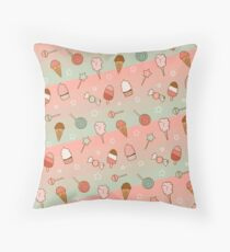Summer Sweets! Throw Pillow