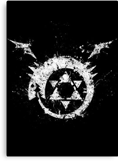 Fullmetal Alchemist Homunculus Ouroboros Canvas Prints By