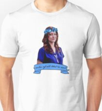 Addison Montgomery - Ruler of all that is evil Unisex T-Shirt