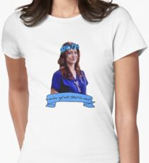 Addison Montgomery - Ruler of all that is evil Women's Fitted T-Shirt