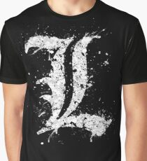 Death Note - L Graphic T-Shirt