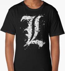 Death Note - L Long T-Shirt
