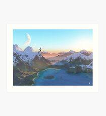 Coves Art Print