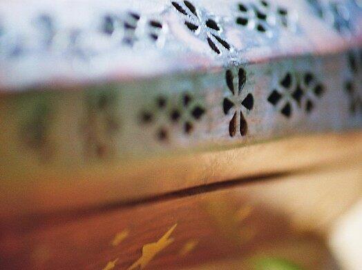 wooden insense by Ryan Green