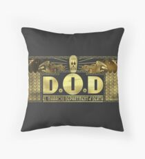 Standard issue Department of Death homewares Throw Pillow