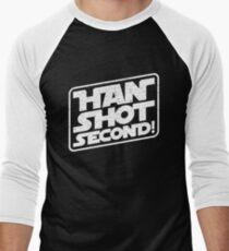 Han Shot Second Star Wars Parody T-Shirt