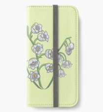 Lily of the Valley - May Birth Month iPhone Wallet/Case/Skin