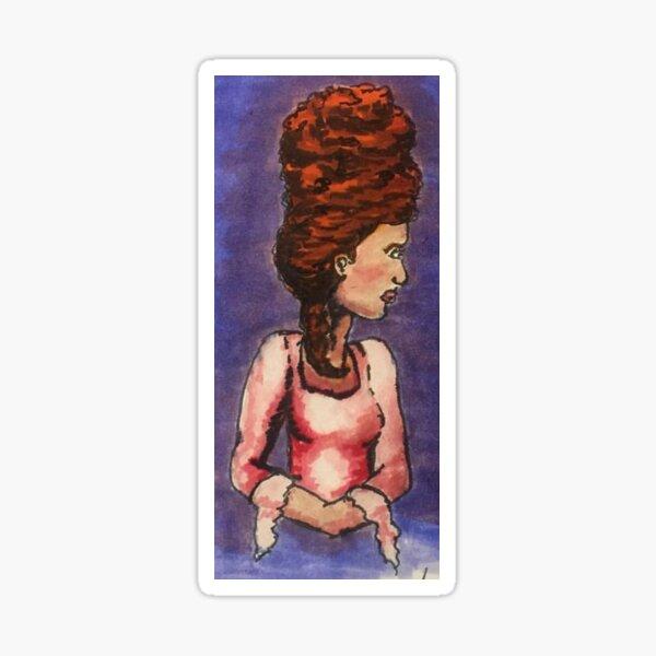 The Duchess Illustration Sticker