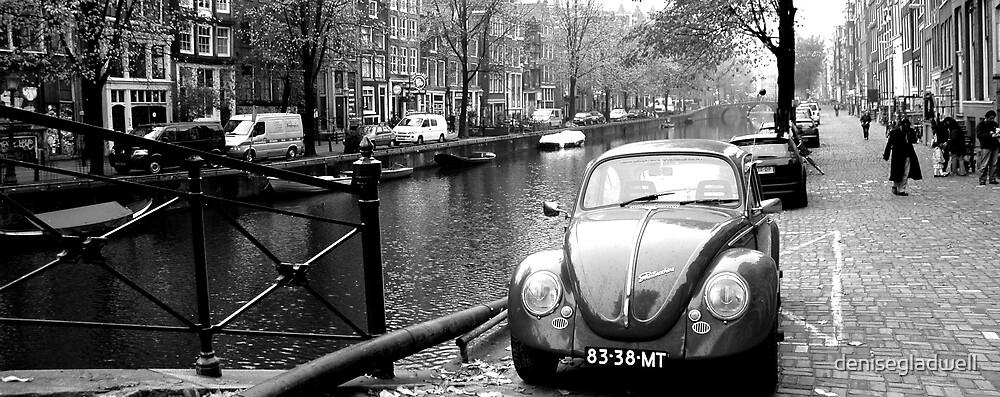 Beetle in Amsterdam by denisegladwell