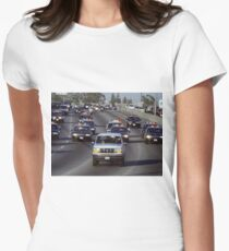 OJ Police Chase Womens Fitted T-Shirt