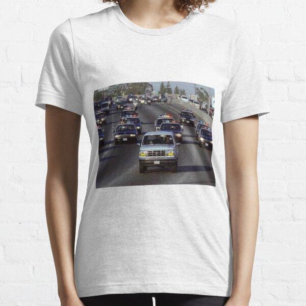 OJ Police Chase Essential T-Shirt