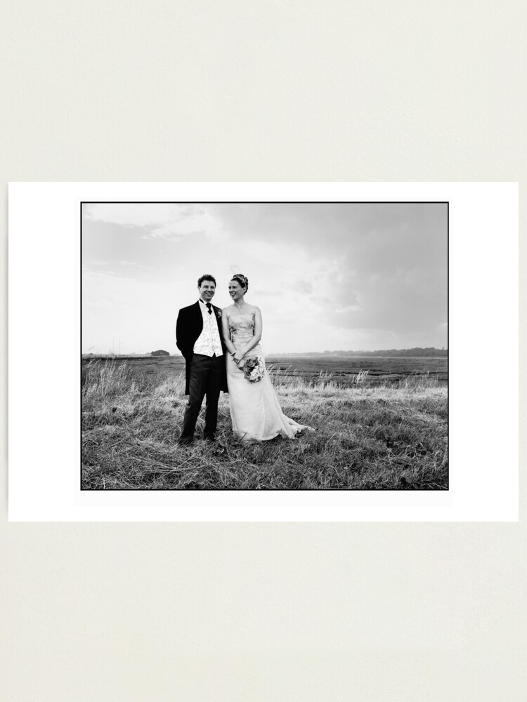 Alternate view of Wedding Shot Photographic Print
