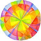 Colour Circle on White by CarolineLembke