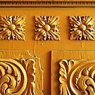 Door Panel Detail by Ethna Gillespie