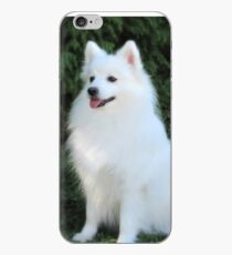 Snow White Spitz iPhone Case