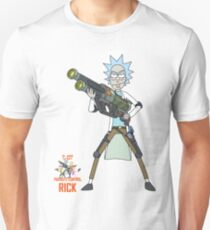 Rick and Morty – Rick, Parasite Control Unisex T-Shirt