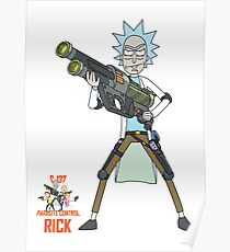 Rick and Morty – Rick, Parasite Control Poster