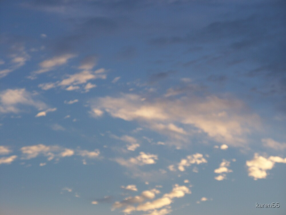 Scattered Clouds by karen66