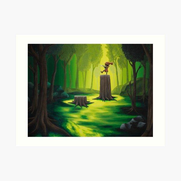 Lost Woods Art Print