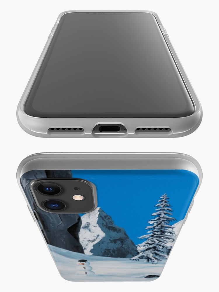 Alternate view of Snowman iPhone Case & Cover