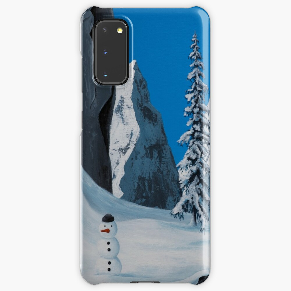 Snowman Case & Skin for Samsung Galaxy