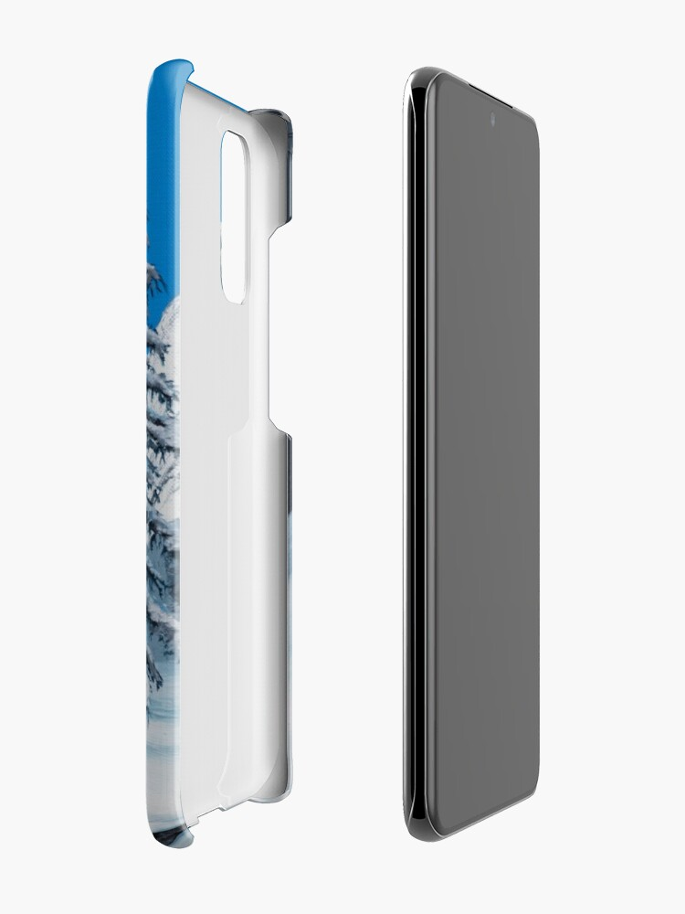 Alternate view of Snowman Case & Skin for Samsung Galaxy