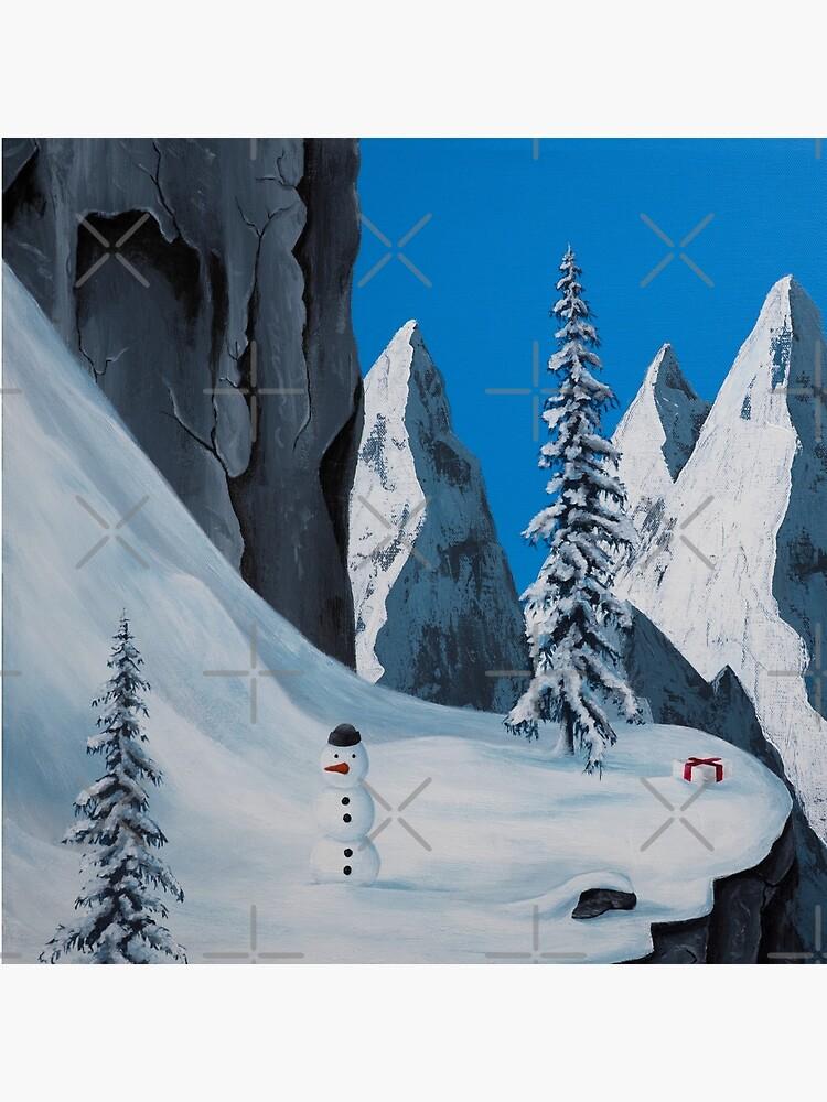 Snowman by MalMakes