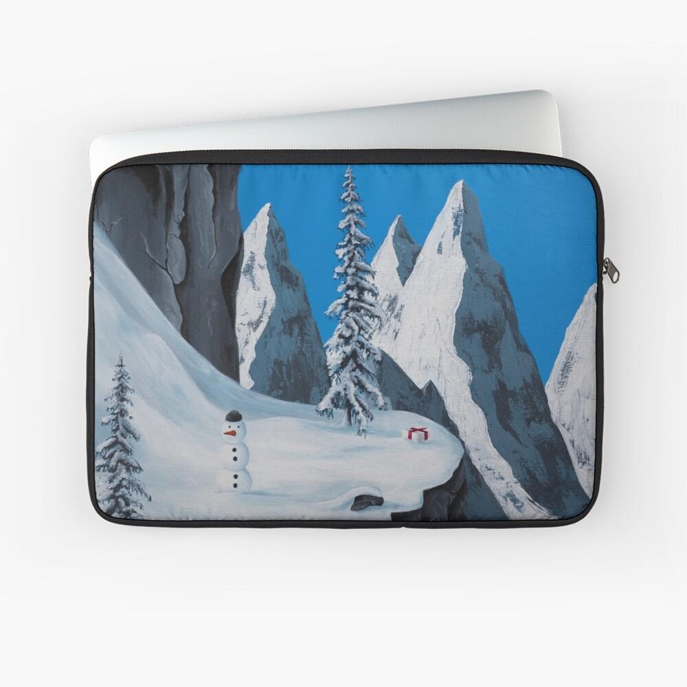 Snowman Laptop Sleeve