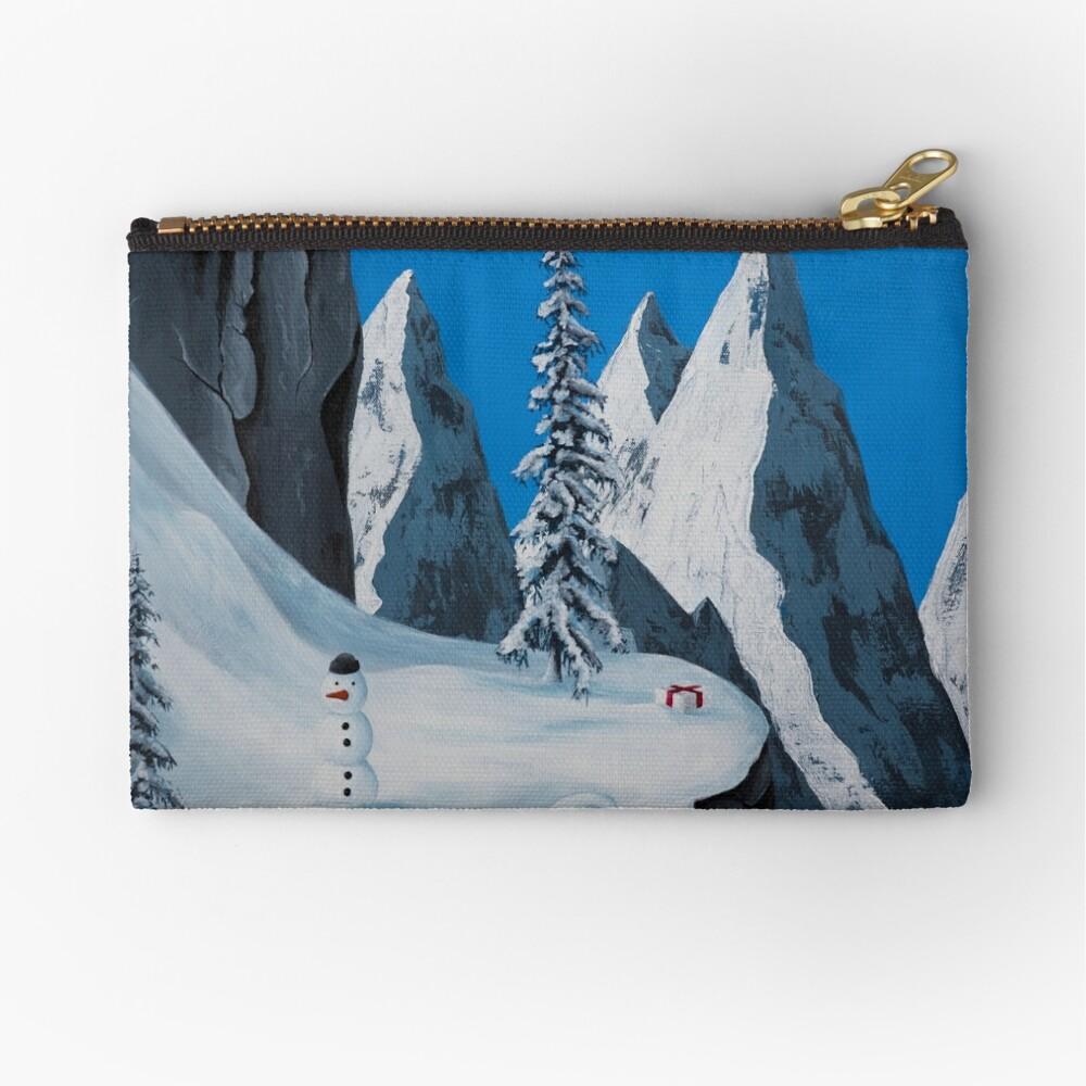 Snowman Zipper Pouch