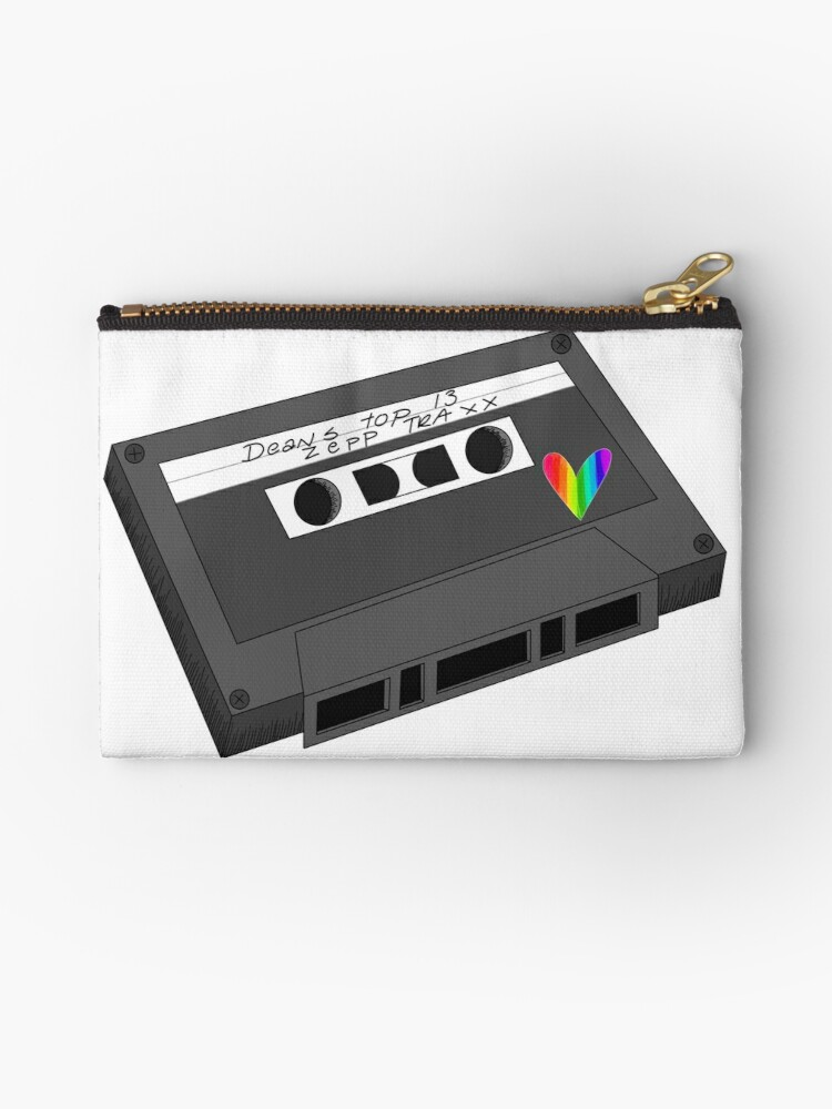 'Dean Winchester & Castiel Mixtape Supernatural ' Studio Pouch by  OliviaLettering