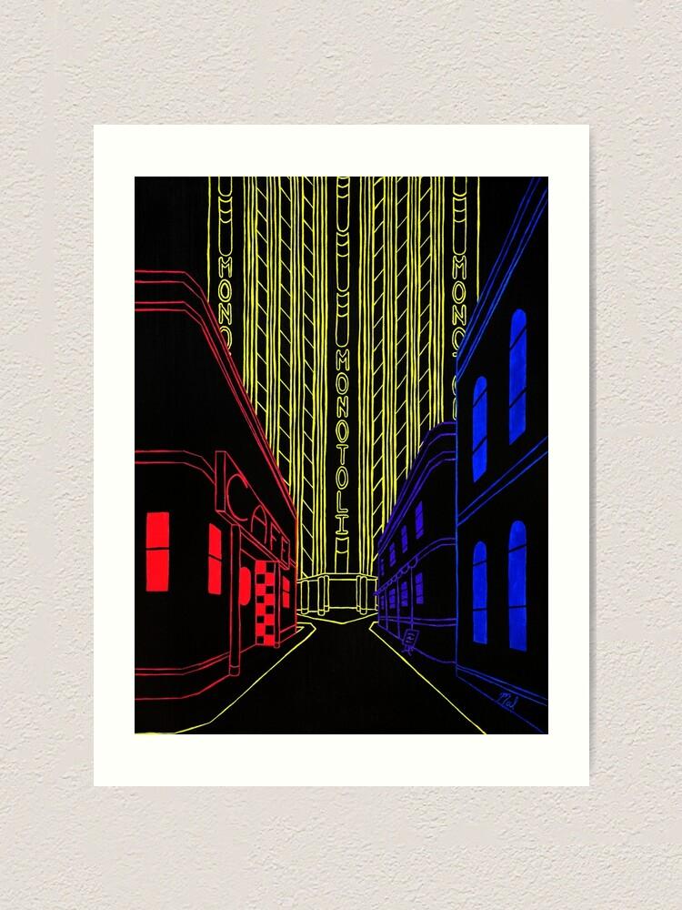 Alternate view of Edisnoom Art Print