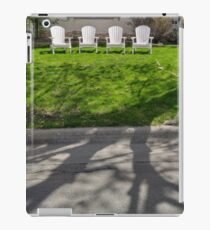 Empty Chairs Holding Court iPad Case/Skin