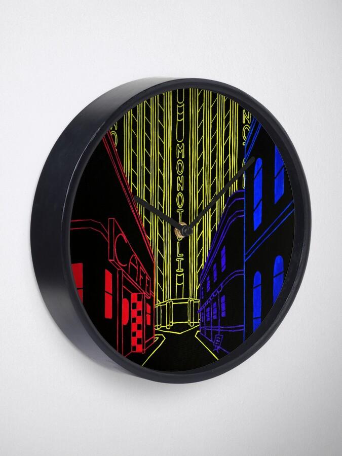 Alternate view of Edisnoom Clock